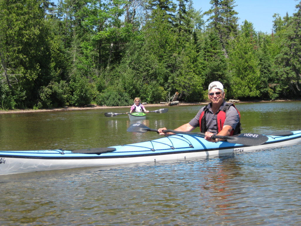 Inland kayaking Michigan's Upper Peninsula is approachable for all experience levels and offers excellent wildlife viewing