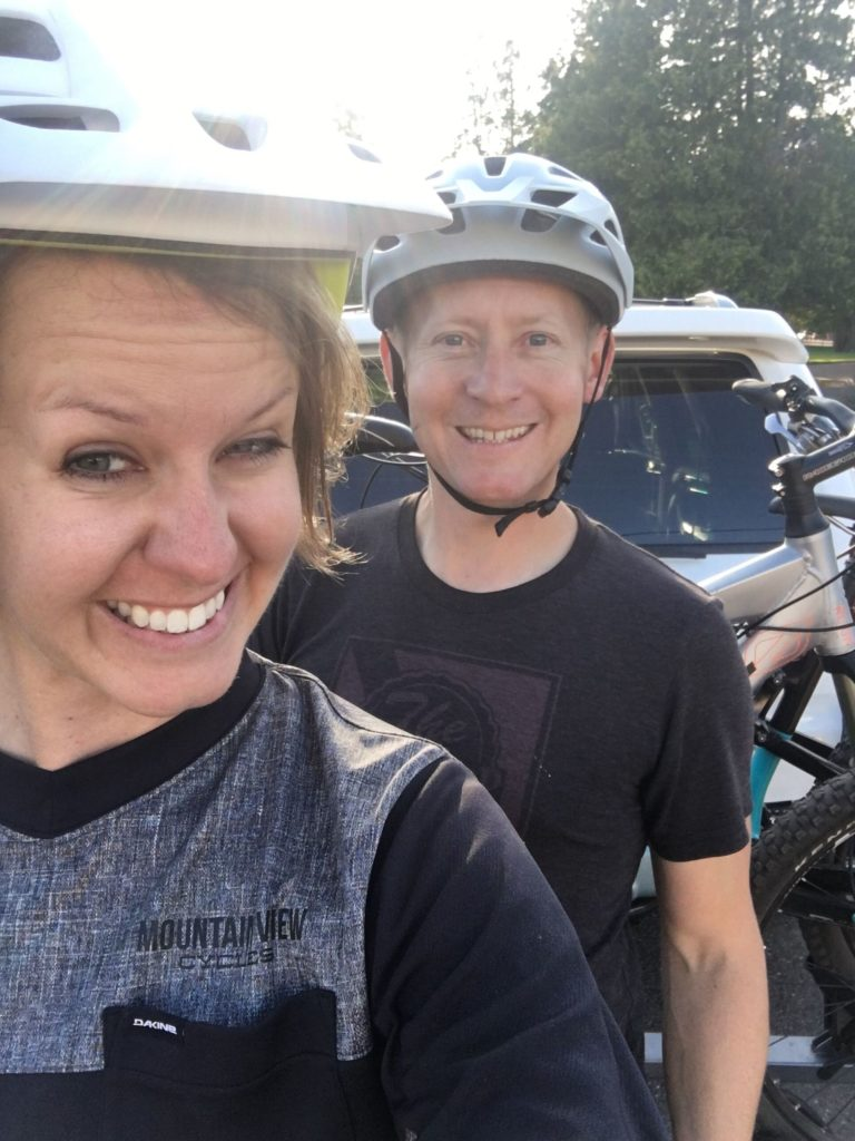 Lynn and Jason Makela love hitting the mountain biking trails of Michigan's Keweenaw Peninsula